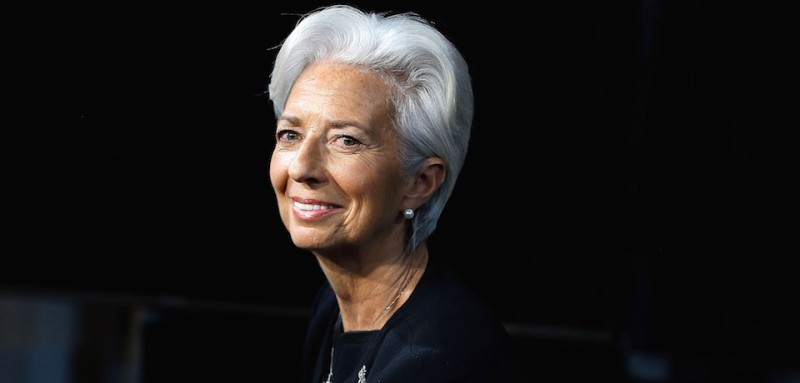 NEW YORK, NEW YORK - APRIL 08:  IMF Chief Christine Lagarde Visits Fox Business Network at FOX Studios on April 8, 2016 in New York City.  (Photo by John Lamparski/Getty Images)