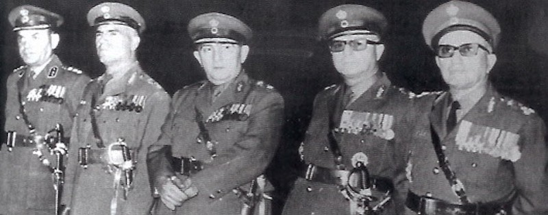 members_of_the_greek_military_junta_of_1967-1974