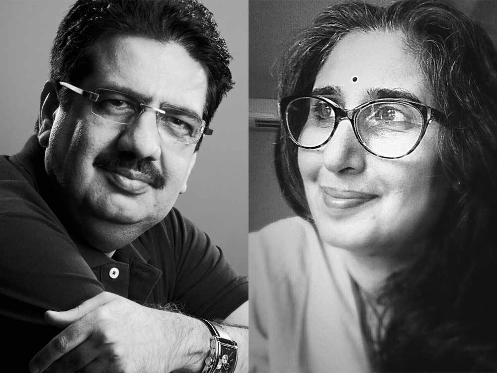 Anupama Nayar and Vineet Nayar