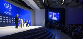UN Secretary General Antonio Guterres delivers a speech during a session of the World Economic Forum, on January 19, 2017 in Davos. / AFP / FABRICE COFFRINI        (Photo credit should read FABRICE COFFRINI/AFP/Getty Images)