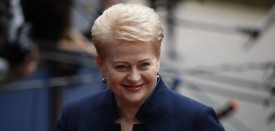 BRUSSELS, BELGIUM - JUNE 28: President of Lithuania Dalia Grybauskaite attends a European Council Meeting at the Council of the European Union on June 28, 2016 in Brussels, Belgium. British Prime Minister David Cameron will hold talks with other EU leaders in what will likely be his final scheduled meeting with the full European Council before he stands down as Prime Minister. The meetings come at a time of economic and political uncertainty following the referendum result last week which saw the UK vote to leave the European Union. (Photo by Dan Kitwood/Getty Images)