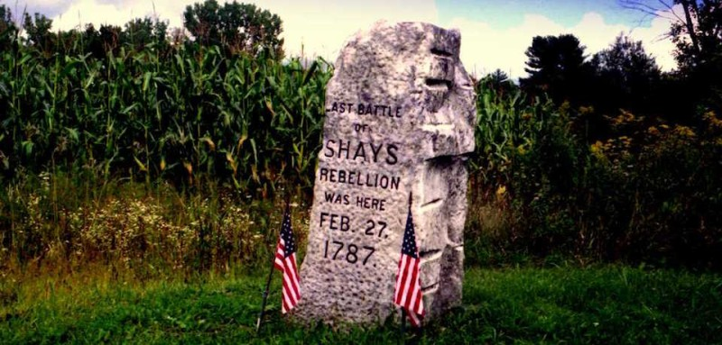 Shays Rebellion monument