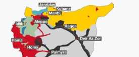 Syria Control Map-AlJazeeraISW