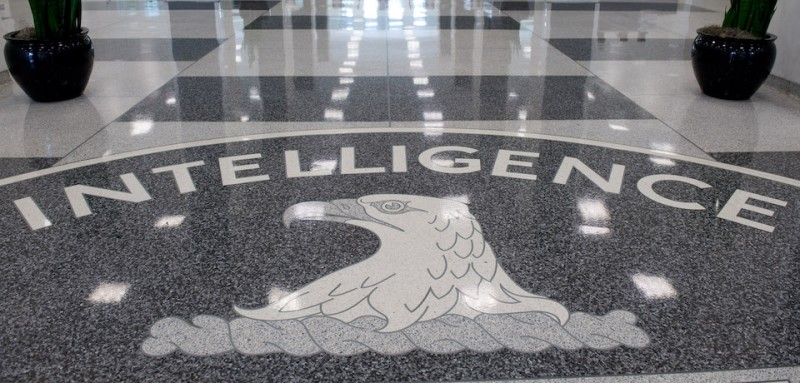 The Central Intelligence Agency (CIA) seal is displayed in the lobby of CIA Headquarters in Langley, Virginia, on August 14, 2008. AFP PHOTO/SAUL LOEB / AFP PHOTO / SAUL LOEB        (Photo credit should read SAUL LOEB/AFP/Getty Images)