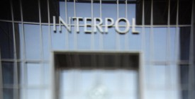"""A picture taken 19 October 2007 in Lyon, shows Interpol's building after a press conference of Jean-Michel Louboutin, international police organisation Interpol's Executive director, following the arrest by Interpol of Christopher Paul Neil, a suspected Canadian paedophile, aka """"Vico"""", accused of sexually abusing young boys in Southeast Asia. Christopher Paul Neil, 32, was nabbed in Thailand's third-largest city Nakhon Ratchasima following an unprecedented appeal from international police organisation Interpol for public help in finding him. AFP PHOTO / FRED DUFOUR (Photo credit should read FRED DUFOUR/AFP/Getty Images)"""