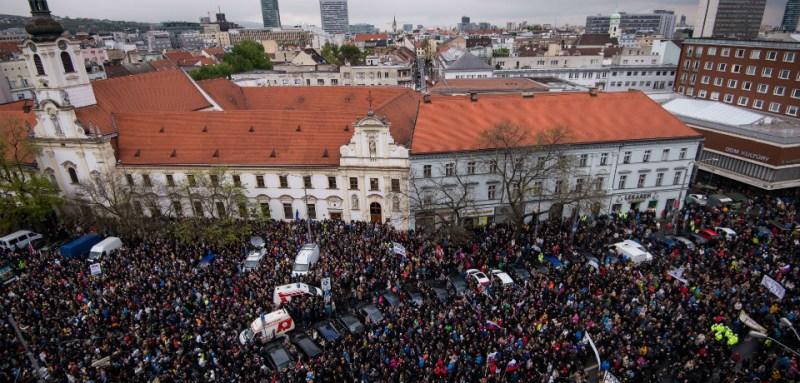 slovakia protests