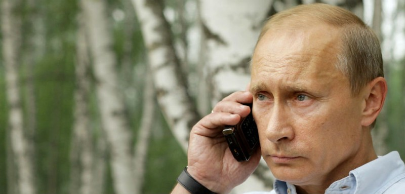 vova on the phone