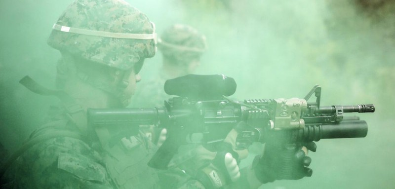 Task Force Southwest Marines complete Nonlethal Weapons Training