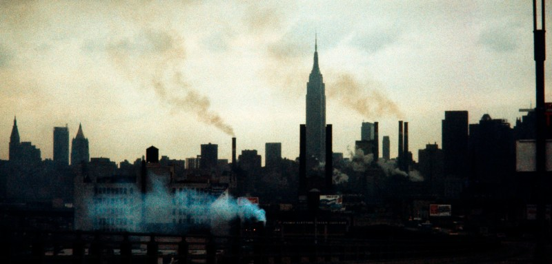 Photo taken in February 1972 shows New York during a twilight.  / AFP PHOTO / -        (Photo credit should read -/AFP/Getty Images)