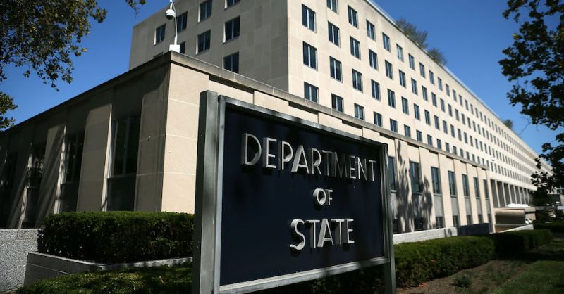 The State Department headquarters in Washington on Sept. 12, 2012.