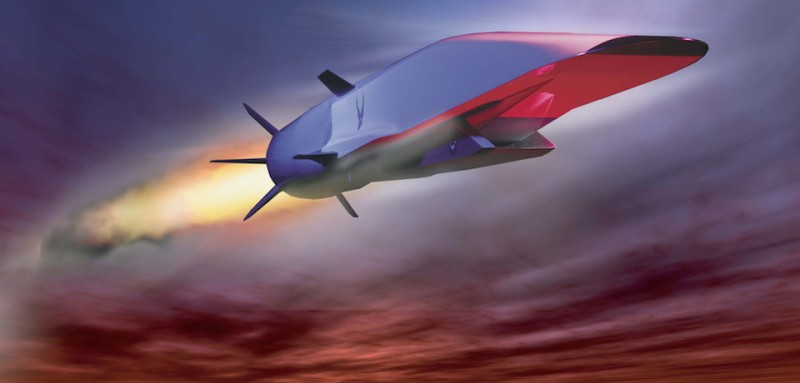 The X-51A Waverider is a hypersonic vehicle designed to ride on its own shockwave and travel at speeds of up to Mach 6.