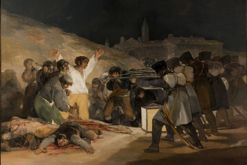 El Tres de Mayo, by Francisco Goya. (Wikimedia Commons)
