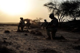 U.S. Air Force's 82nd Expeditionary Rescue Squadron operating in Africa. U.S. Army photo.