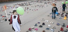 """The """"For Life"""" anti-abortion demonstration in Moscow's Sokolniki park on Sept. 14. (Joel van Houdt for Foreign Policy)"""