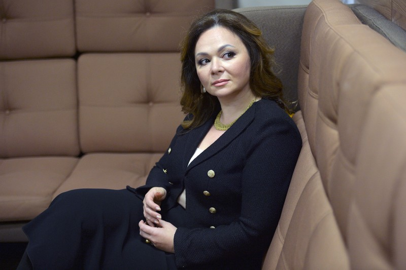 Russian lawyer Natalia Veselnitskaya poses during a Nov. 8, 2016, interview in Moscow. (Yury Martyanov/AFP/Getty Images)