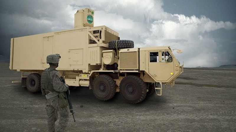 A High Energy Laser Mobile Test (U.S. Army)