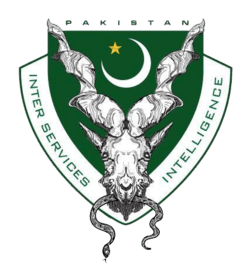 Pakistan's Inter-Services Intelligence (ISI) logo (Wikimedia Commons).