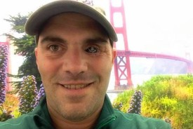 The author, pictured near the Golden Gate Bridge. (D.J. Skelton)