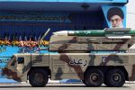 An IRGC Raad air defense system on display in Tehran on Sept. 21, 2012. (Atta Kenare/AFP/Getty Images)