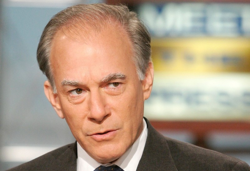 "Columnist and author David Ignatius of the Washington Post speaks during a taping of ""Meet the Press"" at the NBC studios May 28, 2006, in Washington, D.C. (Alex Wong/Getty Images for Meet the Press)"