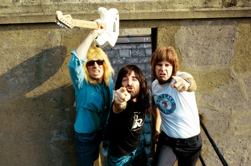 The band Spinal Tap in 1984. (Pete Cronin/Redferns)