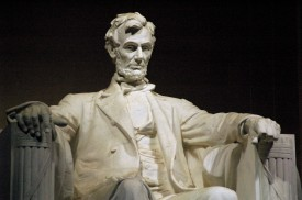 The Lincoln Memorial in Washington, D.C. (Wikimedia Commons)