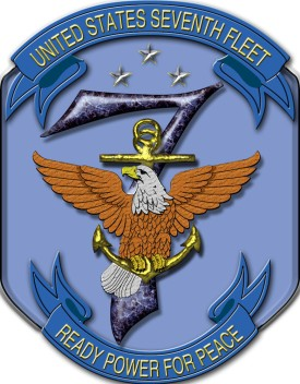 The United States Seventh Fleet logo. (Wikimedia Commons)