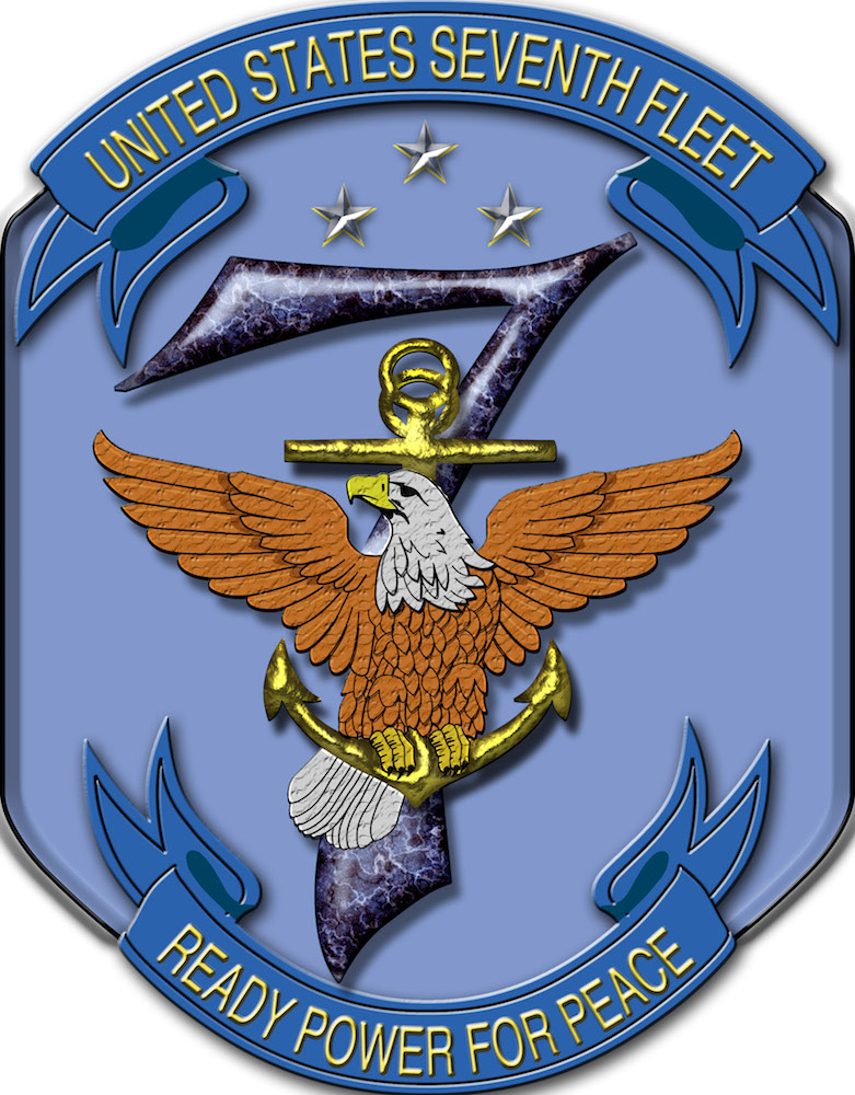 The United States Seventh Fleet logo. (Wikimedia Commons)