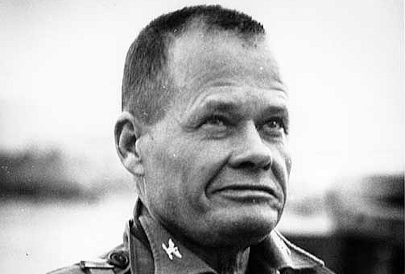 "Lt. Gen. Lewis Burwell ""Chesty"" Puller in 1950 during the Korean War. (Wikimedia Commons)"