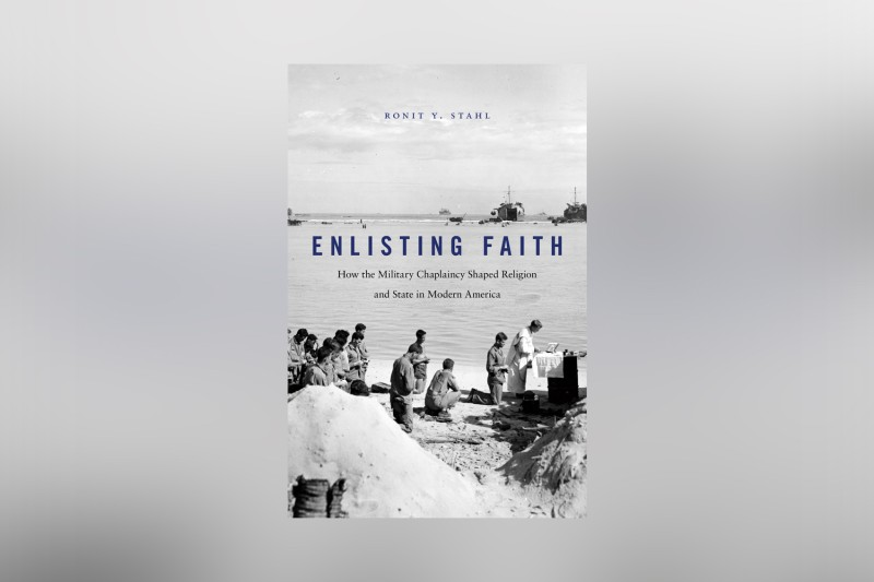 "The cover of ""Enlisting Faith."" (Harvard University Press)"