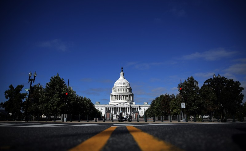 The U.S. capitol building on Sep. 27, 2013. (Getty Images)
