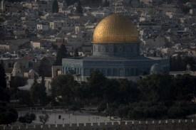 Al-Aqsa Mosque in Jerusalem's Old City on Dec. 10, 2017. (Chris McGrath/Getty Images)