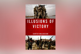 (Cover of Illusions of Victory by Carter Malkasian. Publisher: Oxford University Press. )