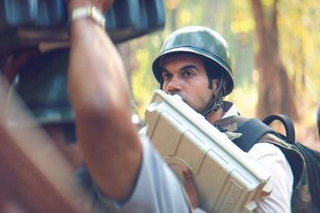 "Rajkummar Rao stars as the title character in ""Newton."" (Courtesy Drishyam Films)"