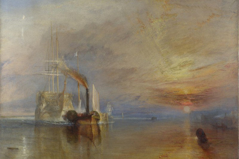 """The Fighting Temeraire"" (J.M.W. Turner/British National Gallery of Art/Wikimedia Commons)"