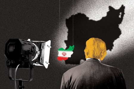 (Getty Images/Zak Bickel illustration for Foreign Policy)