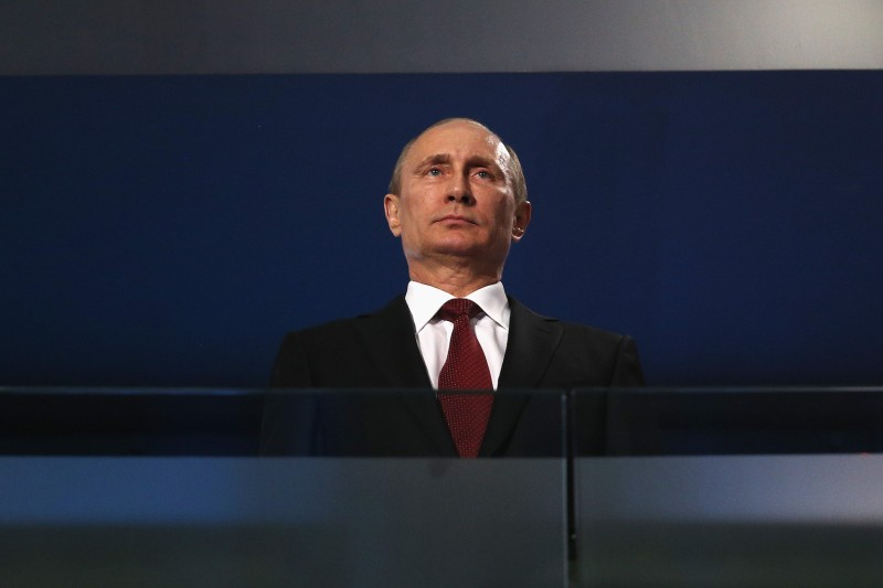 Russian President Vladimir Putin in Sochi, Russia, in March 2014. (Hannah Peters/Getty Images)