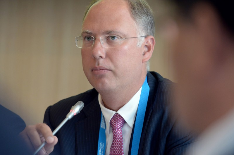 Kirill Dmitriev, head of the Russian Direct Investment Fund, attends a BRICS summit in Russia in 2015. (Evgeny Biyatov/Host Photo Agency/Ria Novosti via Getty Images)