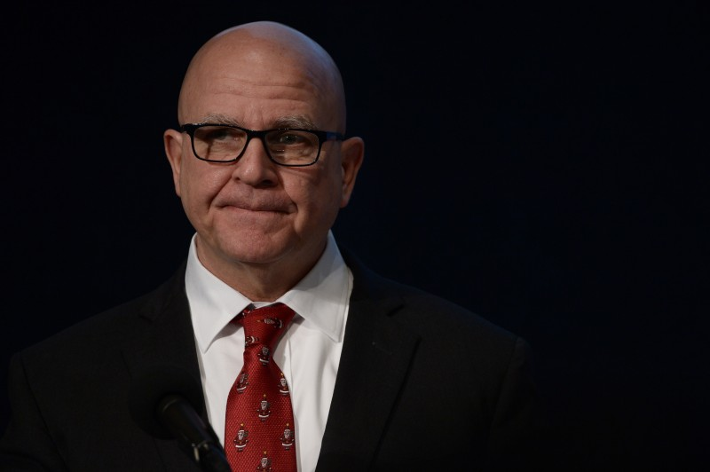 White House National Security Advisor HR McMaster on December 13, 2017 in Washington,DC. (ERIC BARADAT/AFP/Getty Images)