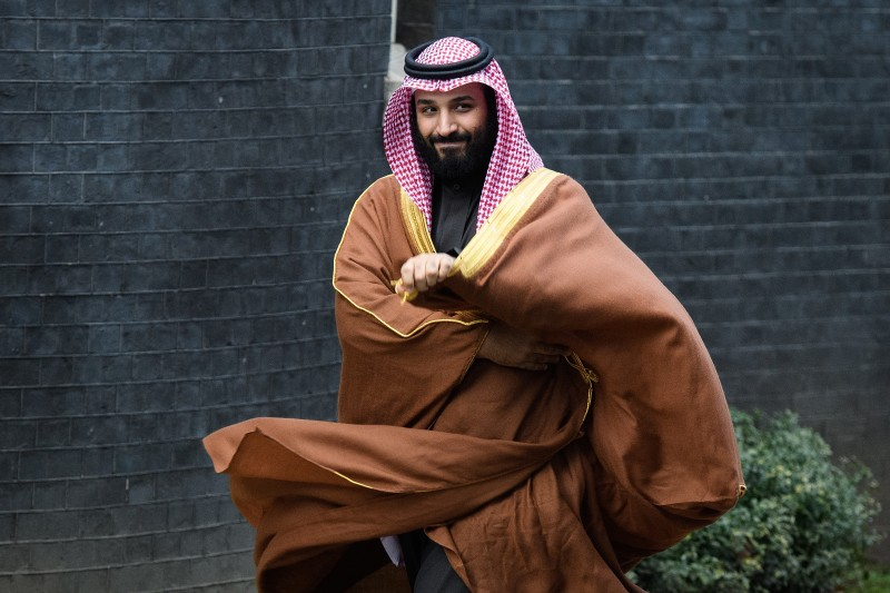 Saudi Crown Prince Mohammed bin Salman on March 7, 2018 in London, England. (Leon Neal/Getty Images)