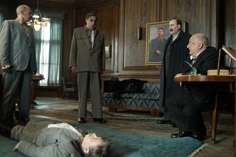 "A still from ""The Death of Stalin."" (IFC Films)"
