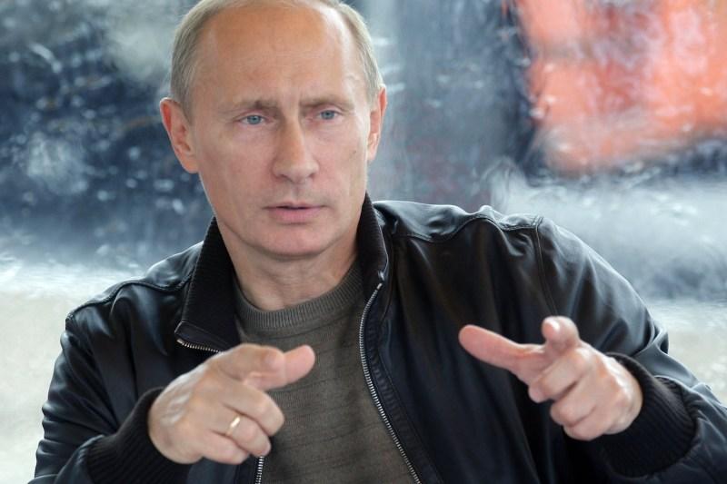 Russian President Vladimir Putin poses in 2014. (Kremlin.ru/Wikimedia Commons)