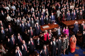 Members of the 115th U.S. Congress take the oath of office in Washington on Jan. 3, 2017. (Win McNamee/Getty Images)
