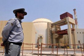 Iran's Bushehr nuclear power plant on Aug. 21, 2010. (IIPA via Getty Images)