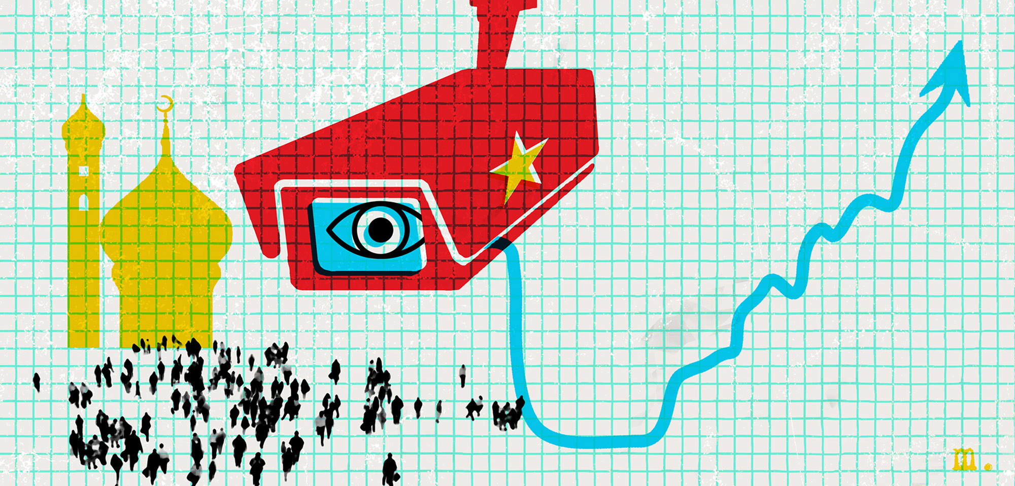 In China's Far West, Companies Cash in on Surveillance Program That