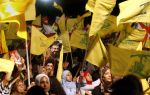 Hezbollah supporters in Beirut, Lebanon, on Aug. 14, 2007. (Marwan Naamani/AFP/Getty Images)