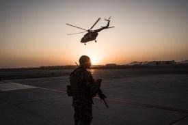 Kandahar Air Field on Sep. 9, 2017. (Andrew Renneisen/Getty Images)