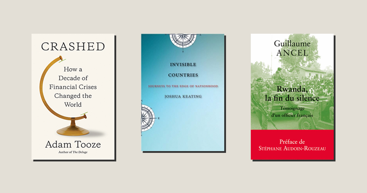 Books in Brief: The Latest Reads on the Financial Crisis, the