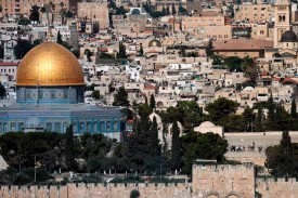 The Dome of the Rock in Jerusalem on June 28. (Thomas Coex/AFP/Getty Images)