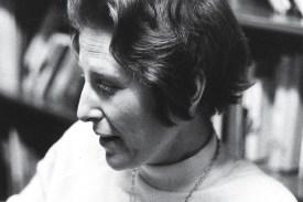 Photograph of Judith Shklar, March 1972. UAV 605.295.11, Box 3.  Harvard University Archives.